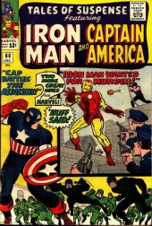 Tales of suspense Vol. 1 (Marvel comics - 1959) -60- Cap battle the assassins & Iron Man wanted for murder
