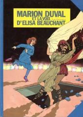Marion Duval -2a88- Et la voix d'Elisa Beauchant