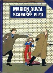 Marion Duval -1a88- et le scarabée bleu
