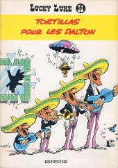 Lucky Luke -31a79- Tortillas pour les Daltons