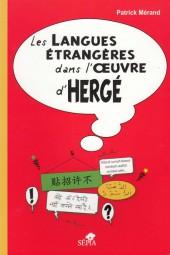Tintin - Divers -a- Les langues étrangères dans l'œuvre d'hergé