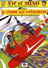 Nic et Mino (Le Coffre à BD) -6- La chasse aux milliardaires