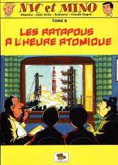 Nic et Mino (Le Coffre à BD) -8- Les Ratapous à l'heure atomique