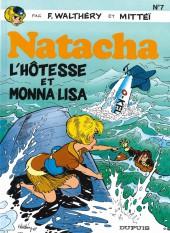 Natacha -7a2000- L'hôtesse et Monna Lisa