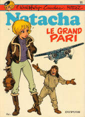 Couverture de Natacha -11- Le grand pari