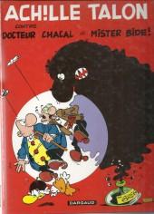 Achille Talon -38a00- Achille Talon contre docteur Chacal et Mister Bide !