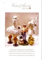 (Catalogues) Ventes aux enchères - Vermot & Associés - Vermot & Associés - Vente de l'entier stock de BDdirect - 5 et 6 novembre 2016 - Toussus le Noble