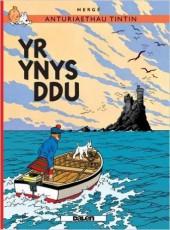 Tintin (en langues régionales) -7Gallois- Yr Ynys ddu