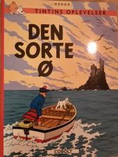 Tintin (en langues étrangères) -7Danois- Den sorte Ø