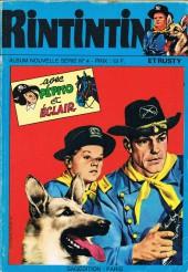 Rin Tin Tin & Rusty (2e série) -Rec74- Album Nouvelle Série N°4 (n°149, 150, 56 et 57)