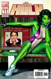 She-Hulk (2005) -7- Beus and eros part 2 : Change Of Heart
