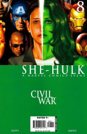 She-Hulk (2005) -8- Civil (War) Union