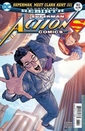 Action Comics (1938) -963- Superman meet Clark Kent - Part 1