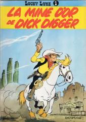 Lucky Luke -1b1983a- La Mine d'or de Dick Digger