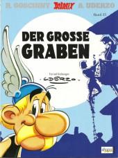 Astérix (en allemand) -25SP10- Der grosse Graben