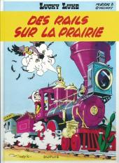 Lucky Luke -9Ind- Des rails sur la prairie