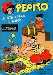 Pepito (1re Série - SAGE) -239- Le petit copain du Bosco