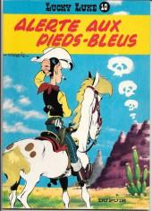 Lucky Luke -10b80- Alerte aux Pieds-Bleus