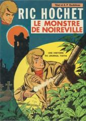 Ric Hochet -15a72'- Le monstre de Noireville