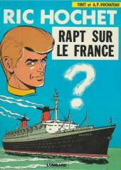 Ric Hochet -6a78- Rapt sur le France