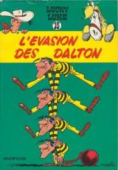 Lucky Luke -15a1964- L'évasion des Dalton