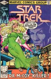 Star Trek (1980) (Marvel comics) -5- Dr. McCoy--Killer?