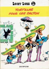 Lucky Luke -31a68- Tortillas pour les Dalton