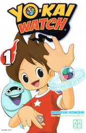 Yo-Kai watch -1- Tome 1