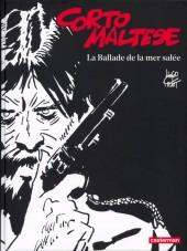 Corto Maltese (Noir et blanc relié) -1- La Ballade de la mer salée
