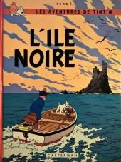 Tintin (Historique) -7B40- L'île noire