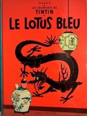 Tintin (Historique) -5B40- Le lotus bleu