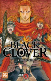 Black Clover -4- Le lion flamboyant