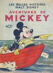 Les belles histoires Walt Disney (1re Série) -3- Aventures de Mickey