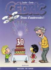 Cédric -Compil8- Drone d'anniversaire ! - Recueil de gags