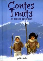 Contes du monde en bandes dessinées - Contes Inuits en bandes dessinées