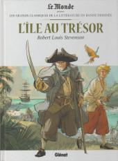 Les grands Classiques de la littérature en bande dessinée -2- L'île au trésor