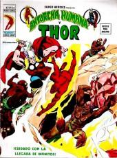 Super Heroes presenta (Vol. 2) -24- Antorcha Humana y Thor: ¡Cuidado con la llegada de... Infinitus!