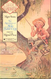 Classics Illustrated (1990) -9- Mark Twain: The Adventures of Tom Sawyer