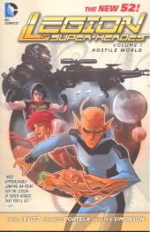 Legion of Super-Heroes (2011) -INT01- Hostile World