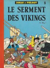Johan et Pirlouit -5f- Le serment des vikings