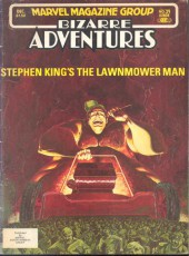 Bizarre Adventures (1981) -29- Stephen King's The Lawnmower Man