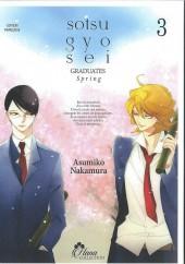 Sotsu gyo sei -3- Tome 3