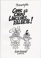 Le concombre masqué -HS10- Conc et Chou lanceurs d'alerte !