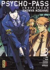 Psycho-Pass - Inspecteur Shinya Kôgami -3- Tome 3
