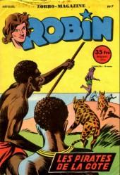 Robin l'intrépide (mensuel) -7- Les pirates de la côte