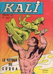 Kali -7- Le retour du cobra