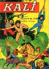 Kali -36- Le calumet de guerre