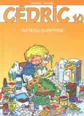 Cédric -10c04- Gâteau-surprise
