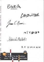 (Catalogue) Prix Töpffer de la ville de Genève -6- 2002