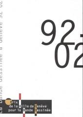 (Catalogue) Prix Töpffer de la ville de Genève -7- La bande dessinée à genève 92-02